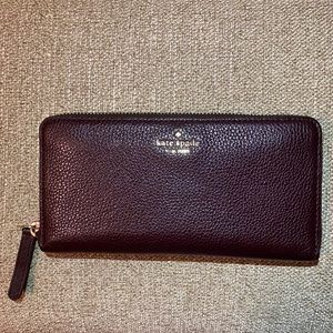 Kate Spade Large Continental Leather Wallet